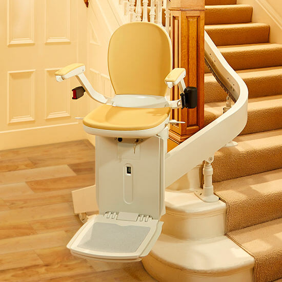 Acorn 180 Stairlift - pour escaliers courbes