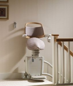 Stannah Saddler Perch Stairlift of Narrow Stairs